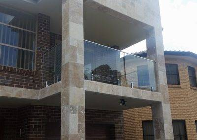 Installing frameless glass balustrade for this client in Mount Gambier