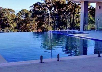 Frameless glass pool fence installation in Adelaide suburbs