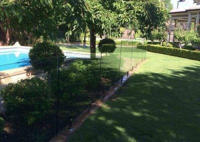 We use quality spigots and clamps in our glass pool fences
