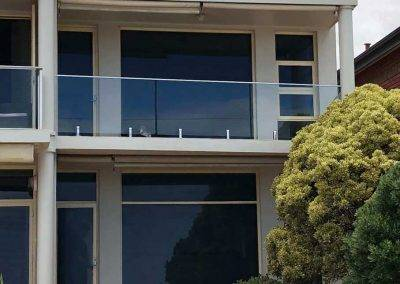 First floor glass balustrade in Henley beach