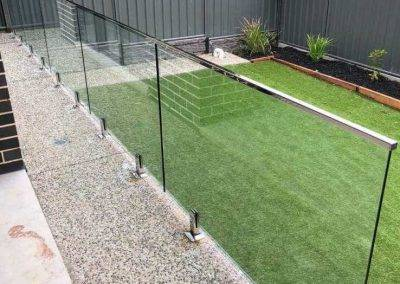 Glass fencing installed Colonel light gardens