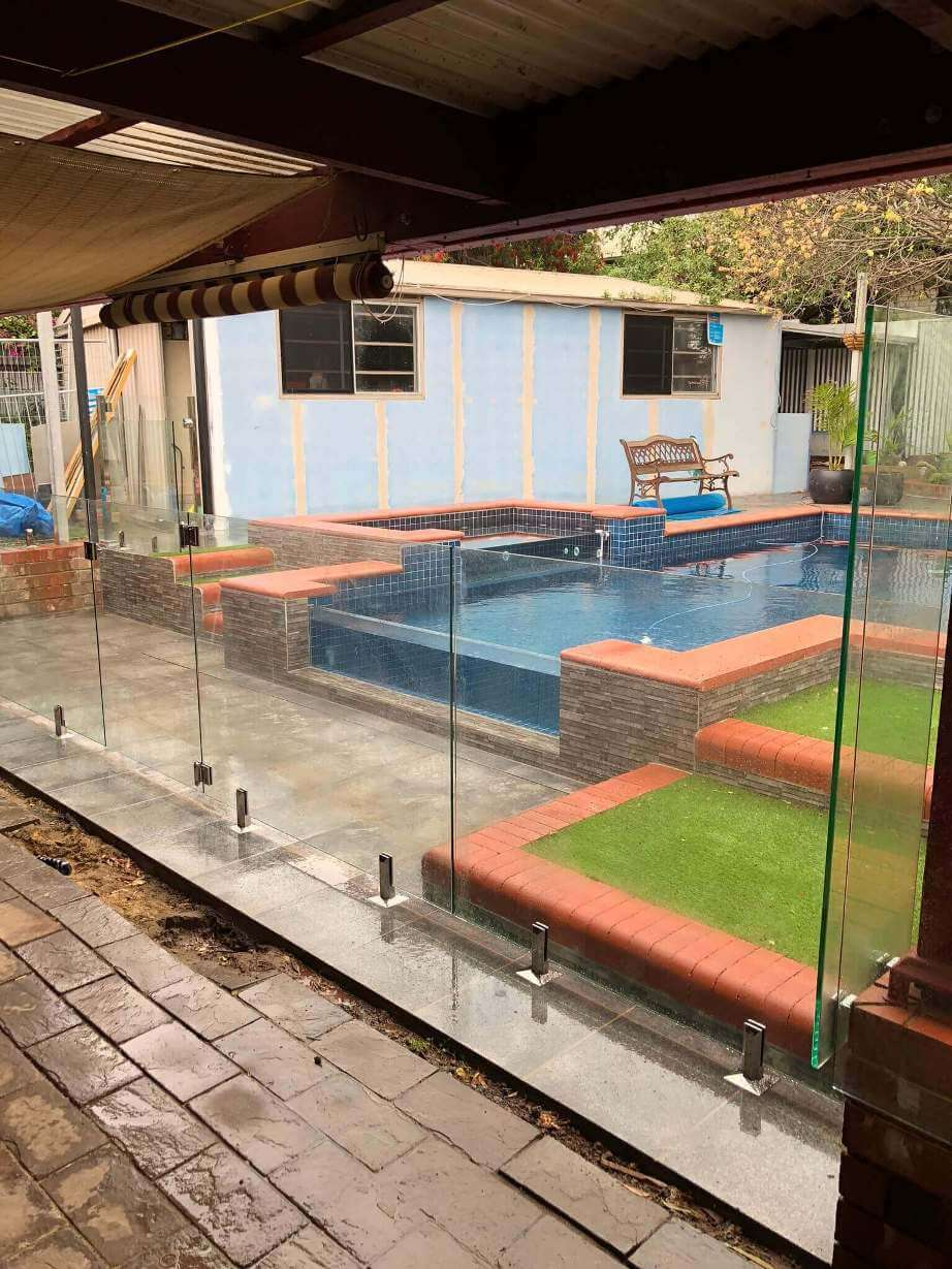 Swimming Pool Glass Fence Installation Glass Fencing